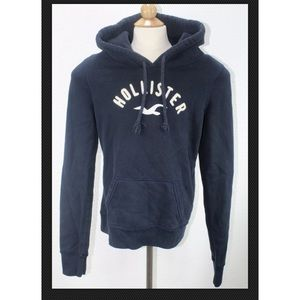 Hollister California Pullover Hoodie Blue size Sm